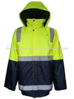 Lights Hi-Vis 2-Tone Waterproof Jacket Workwear