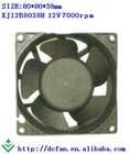 8038 12V brushless dc fan