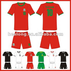 breathable polyester soccer jersey