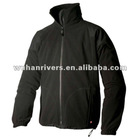 2012 Fashion Men Black Fleece Jacket