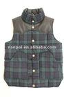 2012 Plaids Men's Vest/ Men's Vest/Waistcoats