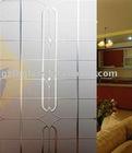 4-12mm acid etched glass- carpet for indoor decoration