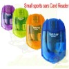 High Quality Small Sports Car TF/Micro SD Card Reader All in One Card Reader/Adapter