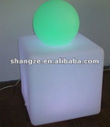 Rechargeable led cube for bar and cafe