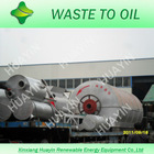 High Oil Yield Scrap Waste Tyre Pyrolysis Oil Refinery Equipment