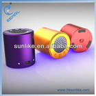 smooth round mini speaker SP-03B easy to carry