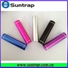 Promotional mobilephone supplier power bank with build-in Micro USB cable for smartphones