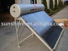 Pressurized solar heater