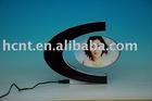 Floating ellipse shape frame