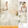 2012 Latest Fashion Trailing Wedding Dress YEWOS-7
