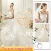 2012 Latest Fashion Trailing Wedding Dress YEWOS-7