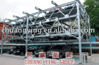 Elevating-sliding parking equipment