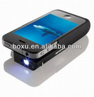 Portable Mini Projector for iphone4/4s high quality 2000mah made in China
