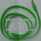 New Design mobile phone Noodle USB Cable for Sumsung Galaxy i9300 i9220 i9100 i9000