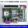intel 915 motherboard with ddr1 and ddr2