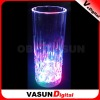 LED flashing pepsi,octagonal glass cup ,glass measuring cup