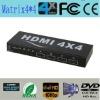 premium HDMI Matrix 4 to 4