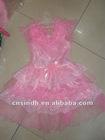 hot pink sequin dance dress