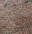2500mmx600mmx20mm Polished Counter top Red Wooden Granite Slabs