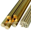 Hexagonal brass rod or bar