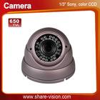 "1/3"" sony ccd 650TVL cctv camera digital, IR distance 20-30M"