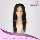 Wholesale 100% human Indian virgin hair cheap silk top full lace wigs