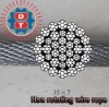 Non rotating steel wire ropes