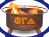 Phi Gamma Delta steel fireplace mantel