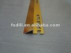 aluminum sloped cover strips