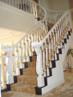 Luxury Lion Design Bamboo Staircase