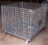 Galvanized mesh container