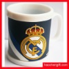 promotion plastic mug cup with pvc cover