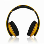 Factory Wholesale High Quality DJ Yellow HeadSet Noise Cancelling Headphone