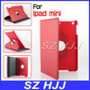 Folding Swivel Leather Case Cover with Stand for Mini iPad