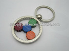 Customised Wheel Gear Metal Key Chain Hot selling in Ebay