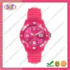 Fashion silicone womens wrist watches wholesale