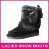Hot sale fashionable winter high quality women's snow boots