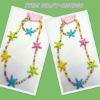 express new design colored plastic necklace with small order