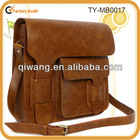 European style retro leather crossbody bag for men