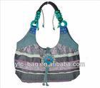 New product yunnan 100% handmade cotton shoulder bag