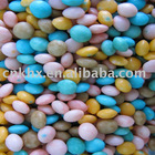 Dilicious colorful puffed food, Mini puffed bean