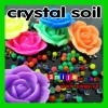 Factory cost flower crystal soil expand 600% of size assorted colors&style growing toy
