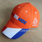 New customer design country 3d embroidered logo caps and hats
