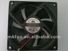 DC 8025 cooling fan single frame 80x80x25mm
