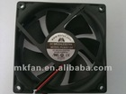 DC 8025 cooling fan single frame 80x80x25mm