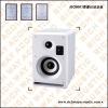 2 way studio audio monitor speaker