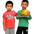 Kid clothes for long sleeve teen boy set