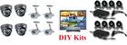 CCTV Kits SURVEILLANCE SYSTEM CCTV SYSTEM: HK-S1908M+IR Camera*8
