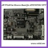lcd driver board with car reverse function