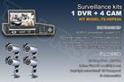 EZ install cctv kit for home cctv surveillance system